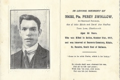 Percy Swallow