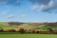 View of the Wolds from Kirby Underdale
