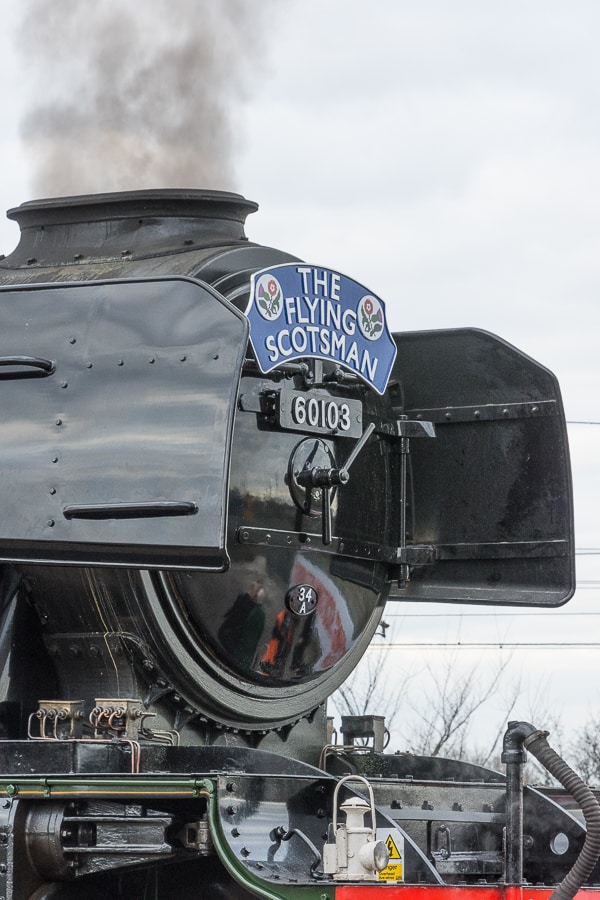 Flying Scotsman Chimney