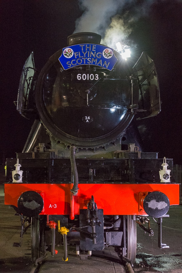 Flying Scotsman's Front End.